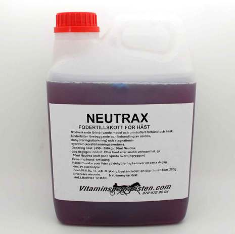 NEUTRAX PH buffrare
