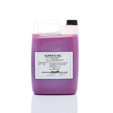 SUPER-E-SEL e-vitamin med selen & lysin för Hund   ph-regl. 7.35